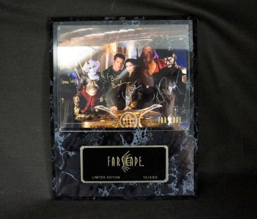 FARSCAPE Limited Edition #10/250 6 STARS w/ Printed Signatures NICELY DONE