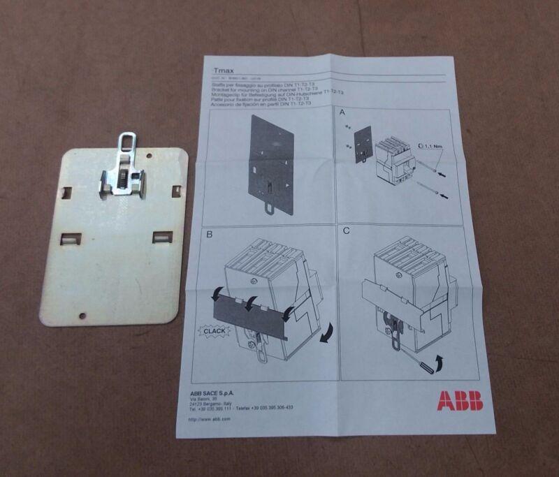 KT3DIN, ABB, Plate For DIN 50022 Profile Mounting Tmax Breaker Frame Size T3