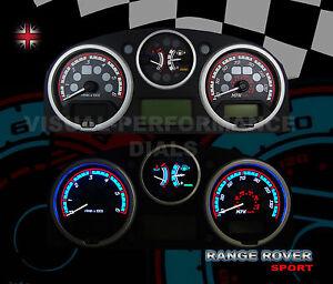 Range Rover Sport Diesel Speedo Dial Kit Lighting Upgrade For The Interior Dash Ebay