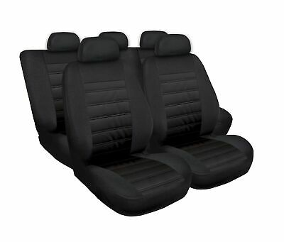 Mercedes ML Klasse Schwarz Universal Sitzbezüge Sitzbezug  Schonbezüge MODERN