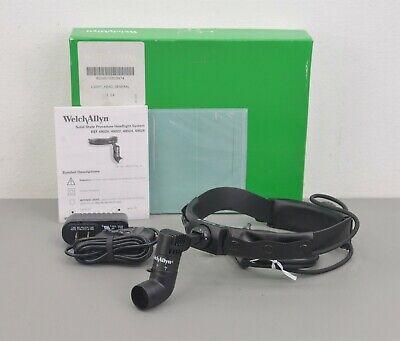 Welch Allyn 49020 Procedure Headband Headlight W Direct Power Supply 24677