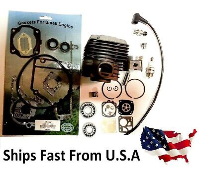 Cylinder Kit For Stihl Ts400 Overhaul Gasket Set Oils Seals Bearings Set
