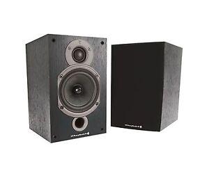 Wharfedale 9.0 Diamond Hifi Speakers Pair Powerful Small Cabinet Sound Black New