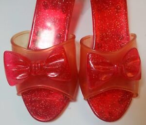 Princess Dorothy Wizard Of Oz Red Ruby Slippers