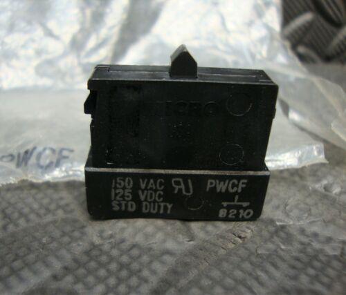 NEW Honeywell MicroSwitch PWCF contact Block