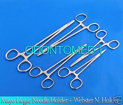 5 Assorted Mayo Hegar Needle Holder  Webster N Holder Surgical Instruments