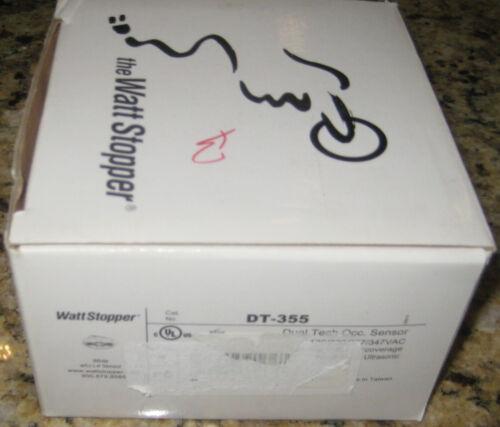 Wattstopper DT-355 Dual Tech Ceiling Mount Occupancy Sensor, 120/277V