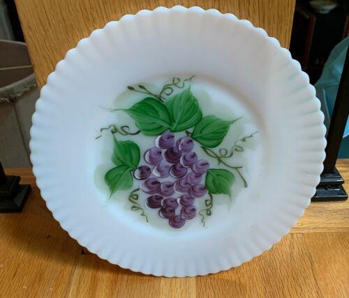 "Macbeth Evans PETALWARE FRUIT Grape Monax 8"" Salad Plate   LAST ONE!!"