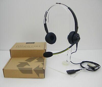 Jabra BiZ 2400 DUO Headband Ultra Noise Canceling QD Phone Headset 2409-700-105 for sale  Shipping to India