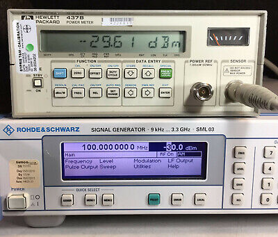 Hp Agilent 437b Power Meter