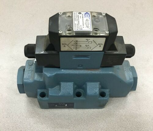 NEW NO BOX CONTINENTAL HYDRAULICS DIRECTIONAL SOLENOID VALVE VSD08M-3A-G1B-60L-A