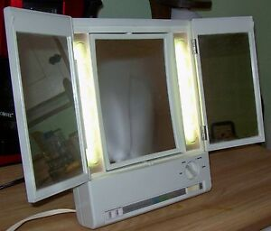 Clairol Lighted Makeup Mirror Ebay