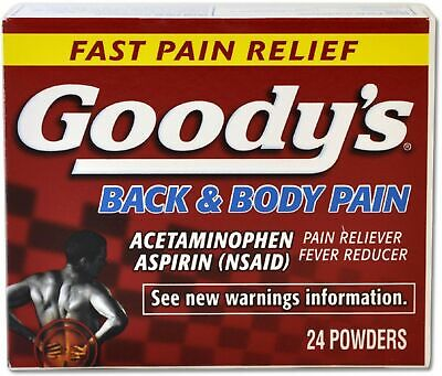 Goody's Back and Body Pain Formula, 24 Count