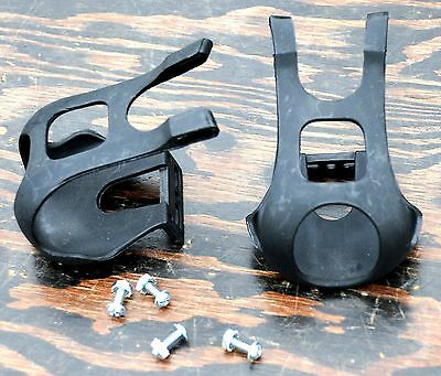 Pedals TOE CLIPS Hardware Screws Spinning Fixie RoadBike MTB