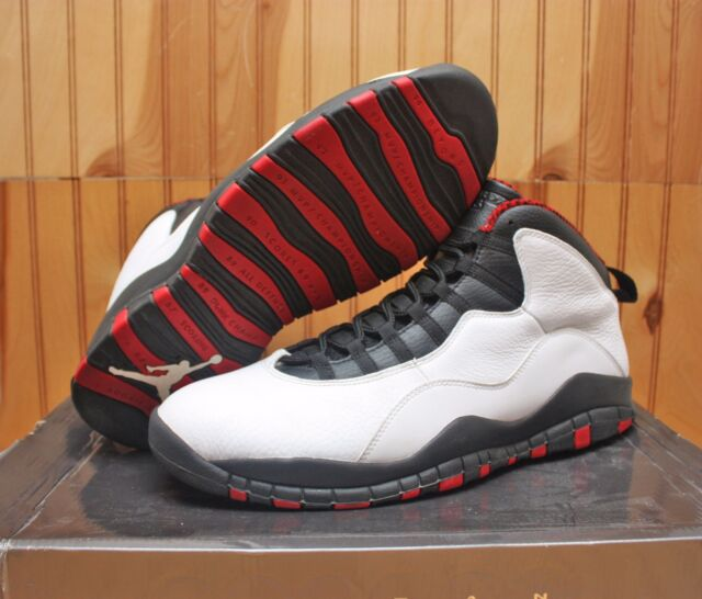 super popular a5d7e 6ca85 Online Nike Air Jordan 10 White Varsity Red Black 310805 100