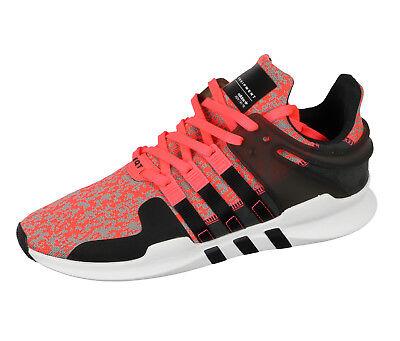 3e4fa0ac649db ADIDAS Equipment Support ADV Running Shoes sz 10.5 Black Pink White EQT