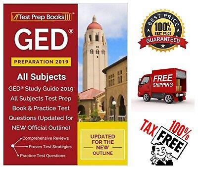 Updated GED Preparation 2019 All Subjects Study Guide 2019 All Subject Test Prep