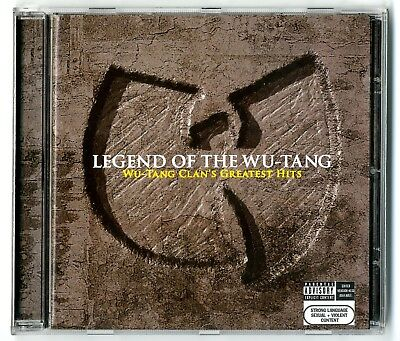 CD Legend of the Wu-Tang - Greatest Hits (Best of) 16 Tracks Album