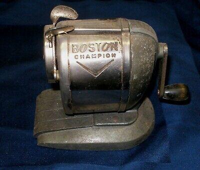 Vintage Boston Champion Desk Pencil Sharpener