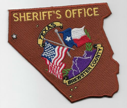 Brewter County Sheriff State Texas TX NEAT