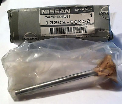 1 New Nissan 13202-50k02 Exhaust Valve For Forklift Make Offer