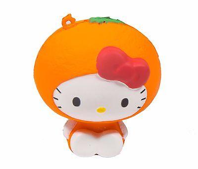 Sanrio Hello Kitty Fruits Market Squishy Hello Kitty in an Orange Costume by - Hello Kitty In Costume