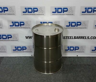 30 Gallon Stainless Steel Barrel Closed Top New