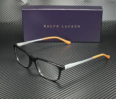 RALPH LAUREN RL6134 5001 Black Demo Lens 53 mm Men's Eyeglasses