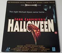 Halloween Laser Disc Widescreen Ntsc Usa Laserdisc John Carpenter Michael Myers -  - ebay.it