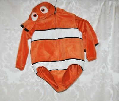Finding Nemo Halloween Costume Toddler (FINDING NEMO  Disney Pixar XS 4 Toddler Halloween Costume Clown Fish)