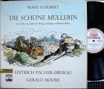 2er-Box SCHUBERT Die Schöne Müllerin - FISCHER-Dieskau - MOORE - NM- - SME 91187