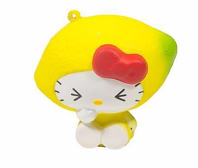 Sanrio Hello Kitty Fruits Market Squishy Hello Kitty in a Lemon Costume by - Hello Kitty In Costume