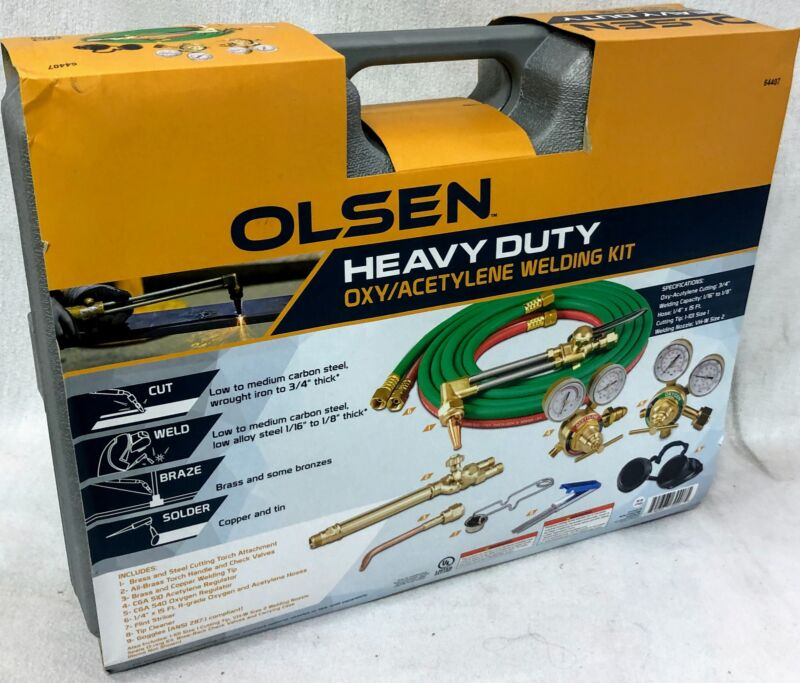 Olsen 64407 Heavy Duty Oxy/acetylene Welding Kit - 792363644075