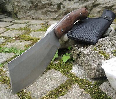 Survivor Messer ORG BUTCHER Cleaver Buschmesser 3Cr13 Stahl Pakkaholzgriff Cleaver Messer