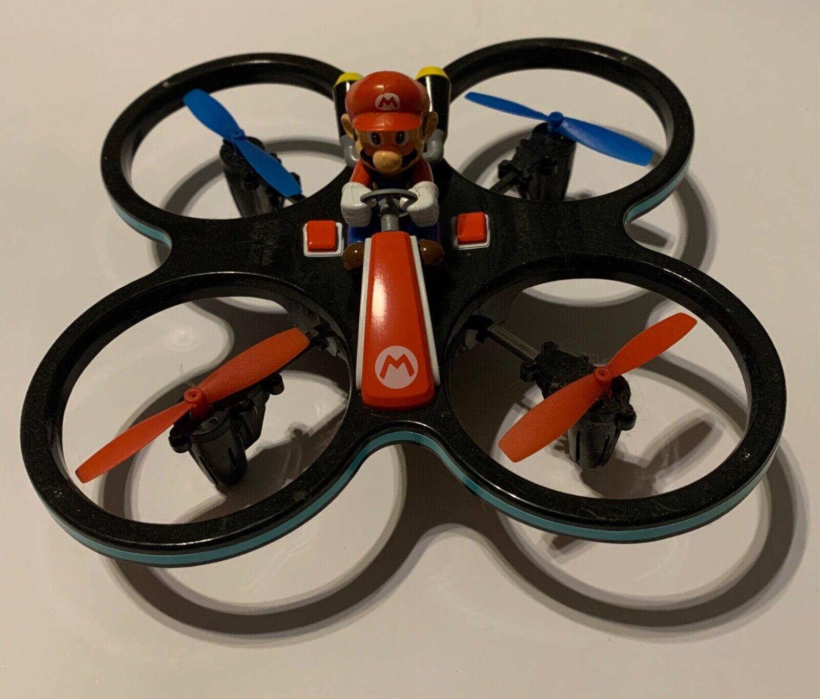 Carrera Rc Nintendo Mini Mario Copter Drohne Quadrocopter RTF 2.4Ghz 370503024