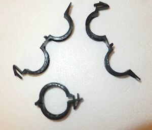 250 BLACK TOMATO CLIPS - UV STABILIZED - REUSABLE -cucumbers peppers VINE