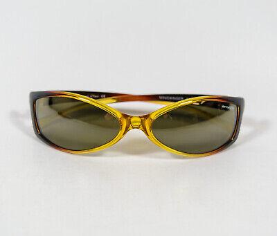 Arnette Mini Swinger 4016 - 217/71 Amber Yellow Frame Sunglasses Italy (Swinger Arnette Sunglasses)