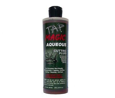 Tap Magic Aqueous Formula Cutting Fluid 16 Oz Spout Top Bottle