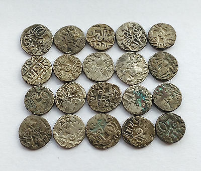 Eighteenth Century Silk Road Coins,Ancient Khanate of Kokand Silver Coins.