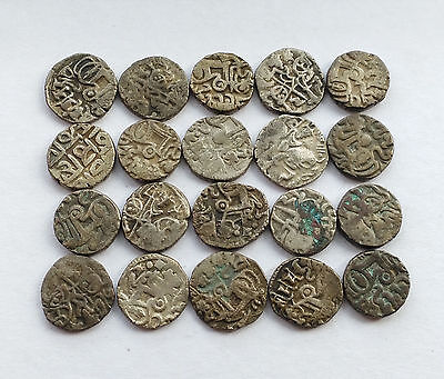 Eighteenth Century Silk Road Coins Ancient Khanate Of Kokand Silver Coins