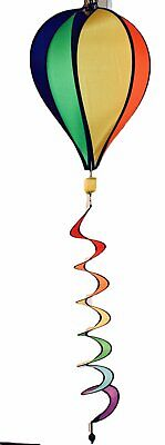 Wind Spinner Hot Air Balloon Multicolor Deluxe Sun Premium Lawn Garden 22