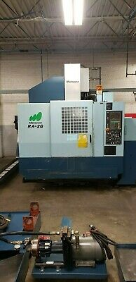Used Matsuura Ra-iig Cnc Vertical Machining Center Mill W Auto Pallet Changer 00