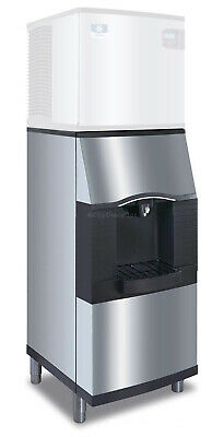 Manitowoc Spa-160 120lb Hotel Ice Dispenser 22 Wide Floor Model Stainless