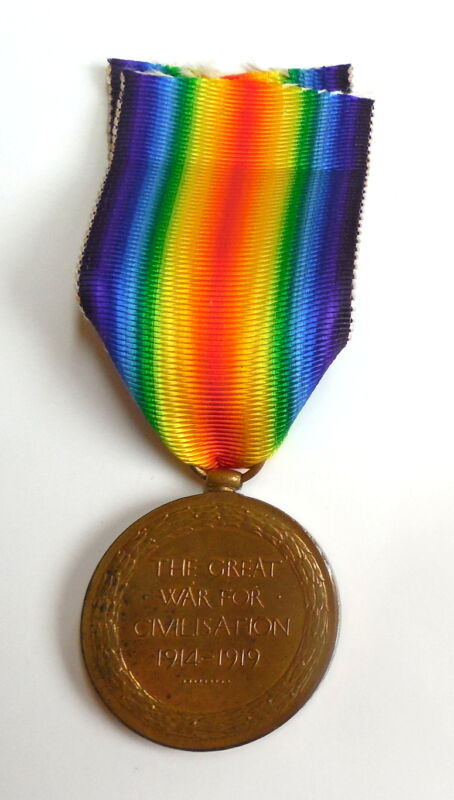British World War I Victory Medal VG Condition to S-11280 Pte A Morrison Gordons
