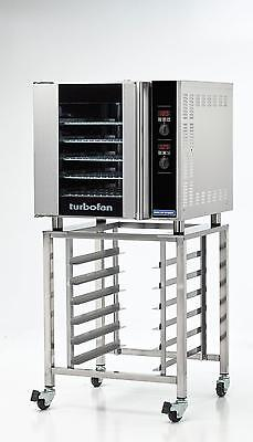 Moffat E32d5sk32 Electric Convection Oven Full Size 5 Pan W Mobile Stand