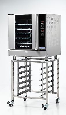 Moffat G32d5sk32 Gas Convection Oven Full Size 5 Pan Digital W Mobile Stand