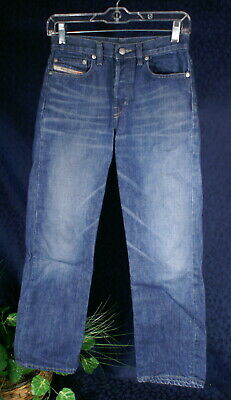 DIESEL SKINT Indigo Blue Denim Jeans Size 26 for sale  Shipping to India