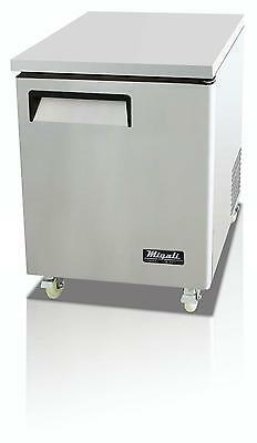 Migali C-u27f-hc Migali 6.5 Cu.ft Ss Under-counter Freezer One Solid Door