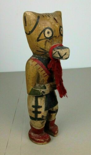 old Hopi doll - Kachina 11 inch old Germany collection