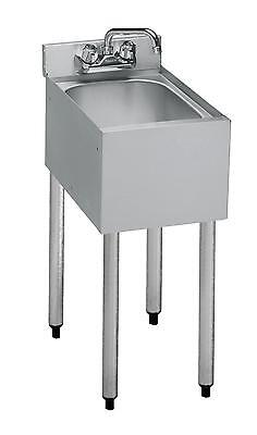 Krowne Metal 18-1c 18.5d Underbar Hand Sink 10 X 12 X 7 Bowl 1 Compartment